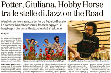 Potter, Giuliana, Hobby Horse tra le stelle di Jazz on the Road (BSOGGI)